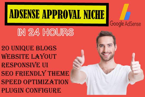 Portfolio for an adsense approval micro niche site