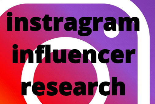 Portfolio for I will find best instagram influencer