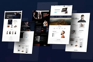 Portfolio for HTML Email Design with Automation