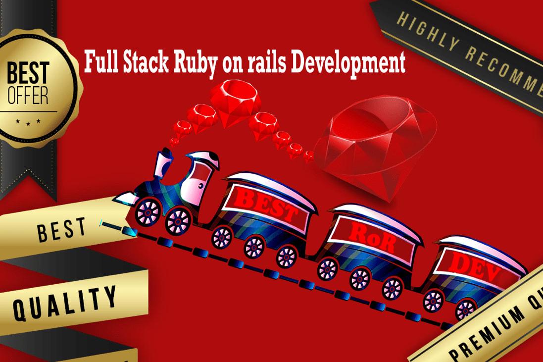 Portfolio for Ruby on rails development