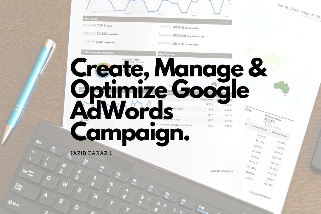 Portfolio for Google AdWords (ad) Campaign Management