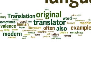Portfolio for Langaue translating