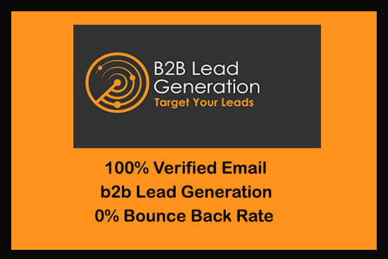 Portfolio for B2B lead generation and Web research