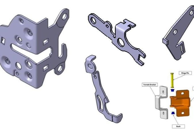 Portfolio for Catia 2D Drawing and 3D Modelling
