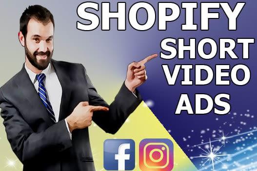 Portfolio for facebook drop shipping short video ads