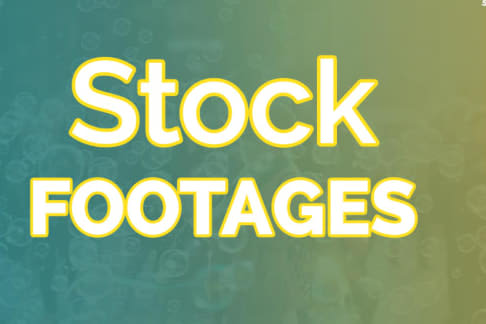 Portfolio for 100 stock footages in 4k @ $5