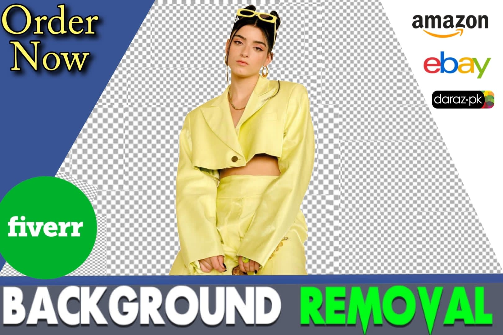 Portfolio for Image cropping and background removal