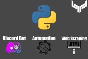 Portfolio for Discord Bot, Automation, Web Scraping