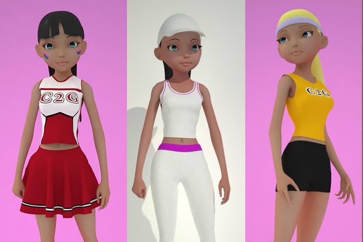 Portfolio for 3d Character modeling/Rigging/Animation