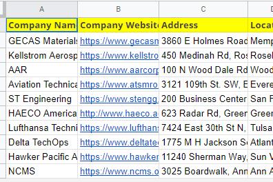 Portfolio for Excel Data Entry