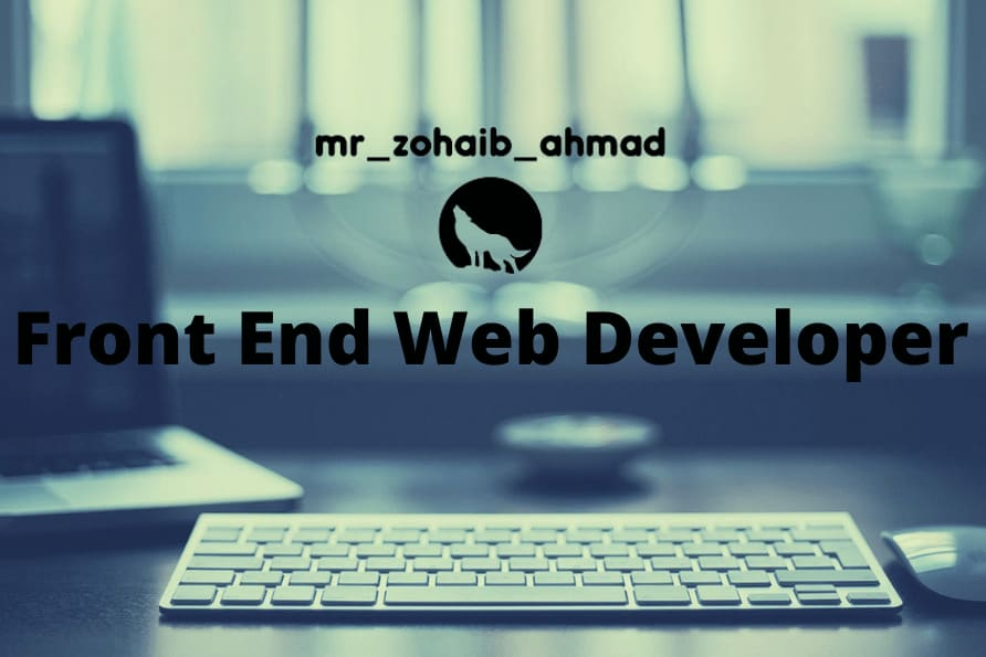 Portfolio for Front End Web Development