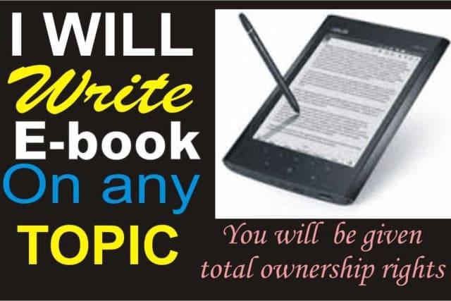 Portfolio for Informative Writer