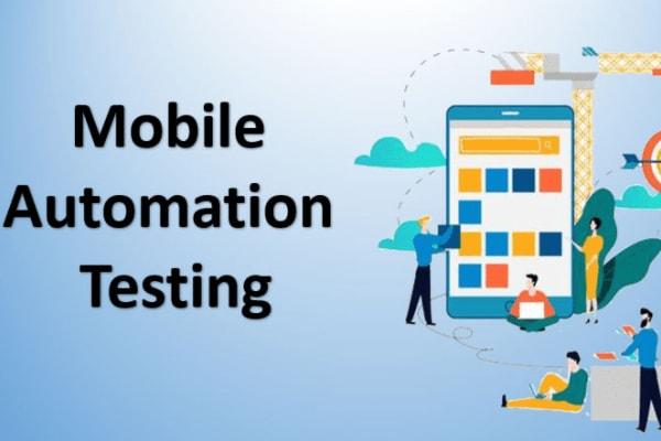 Portfolio for Mobile Automation, Appium,Xamarin UITest