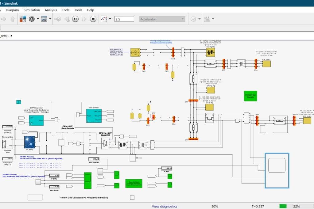 Portfolio for Matlab Simulink Simulation