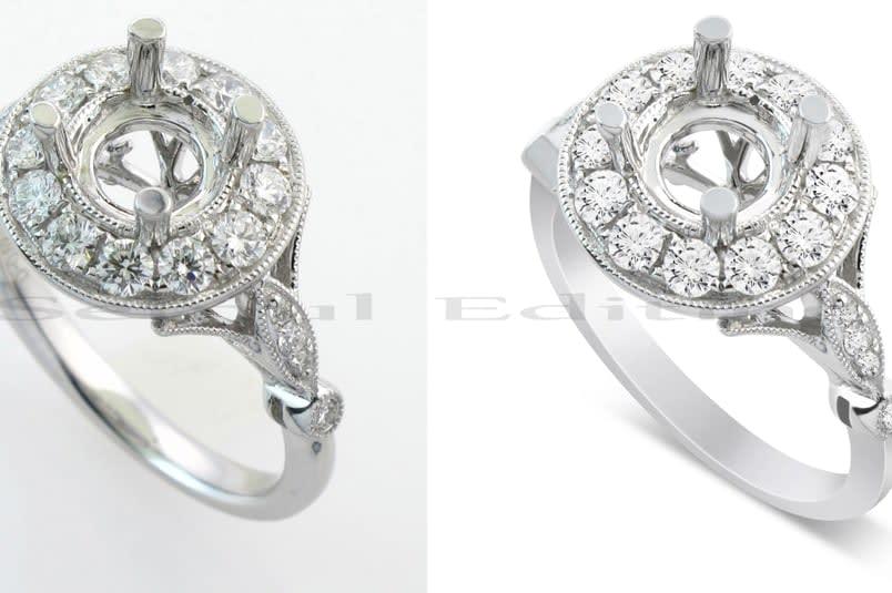 Portfolio for Jewelry Retouch