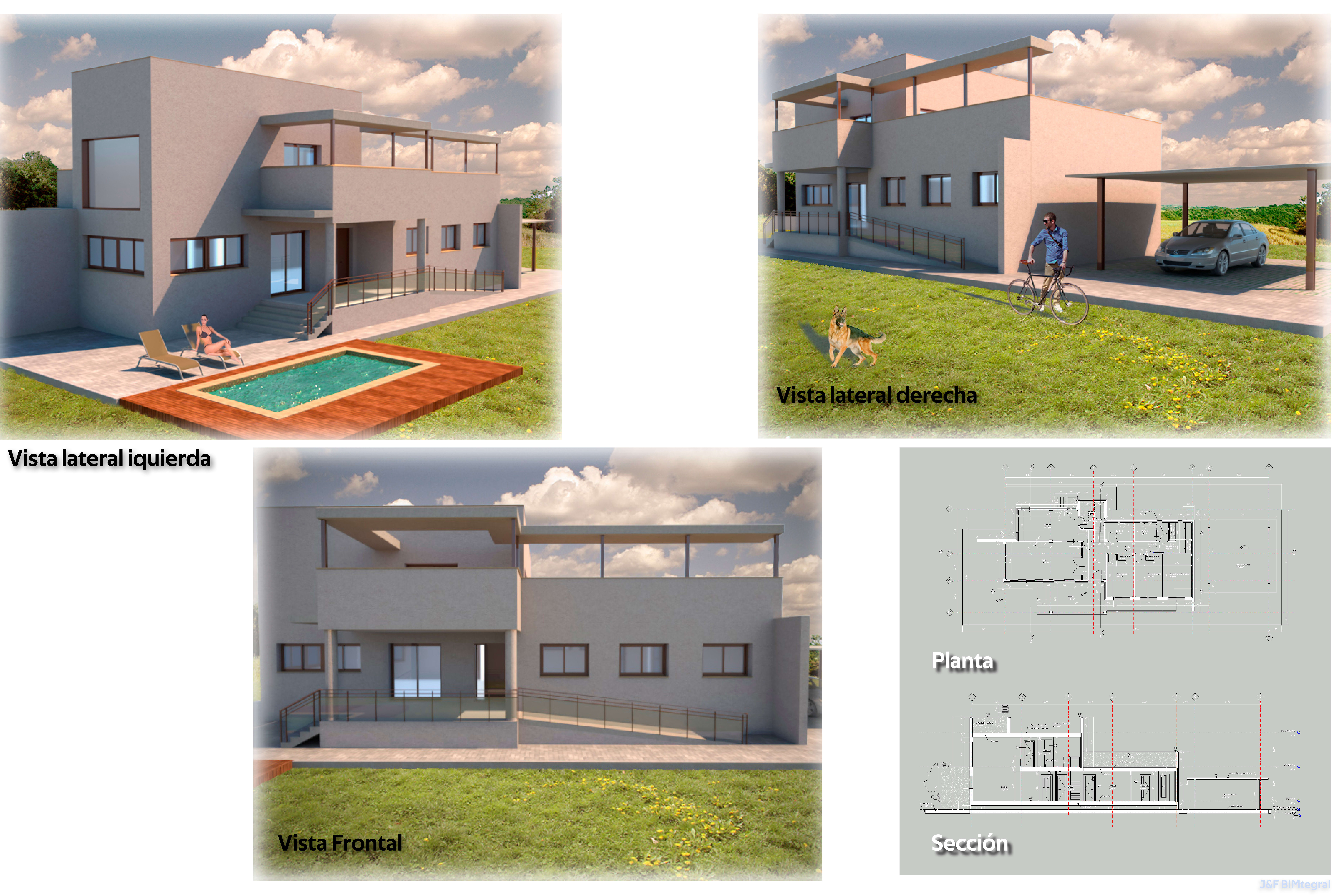 Portfolio for Modeling and Rendering Building Interior