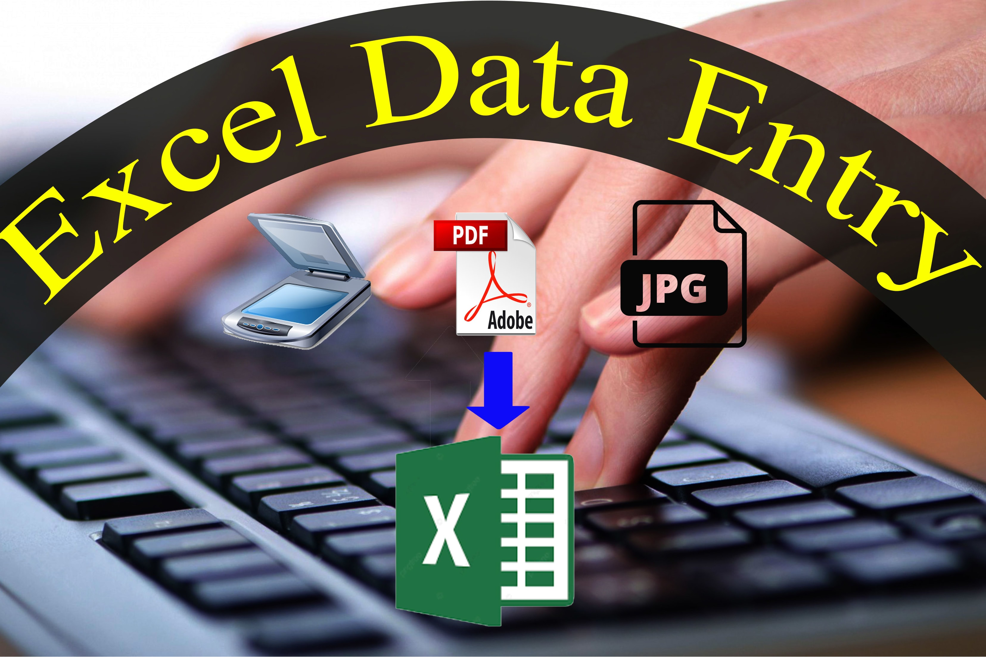 Portfolio for I will convert PDF to Word or Excel