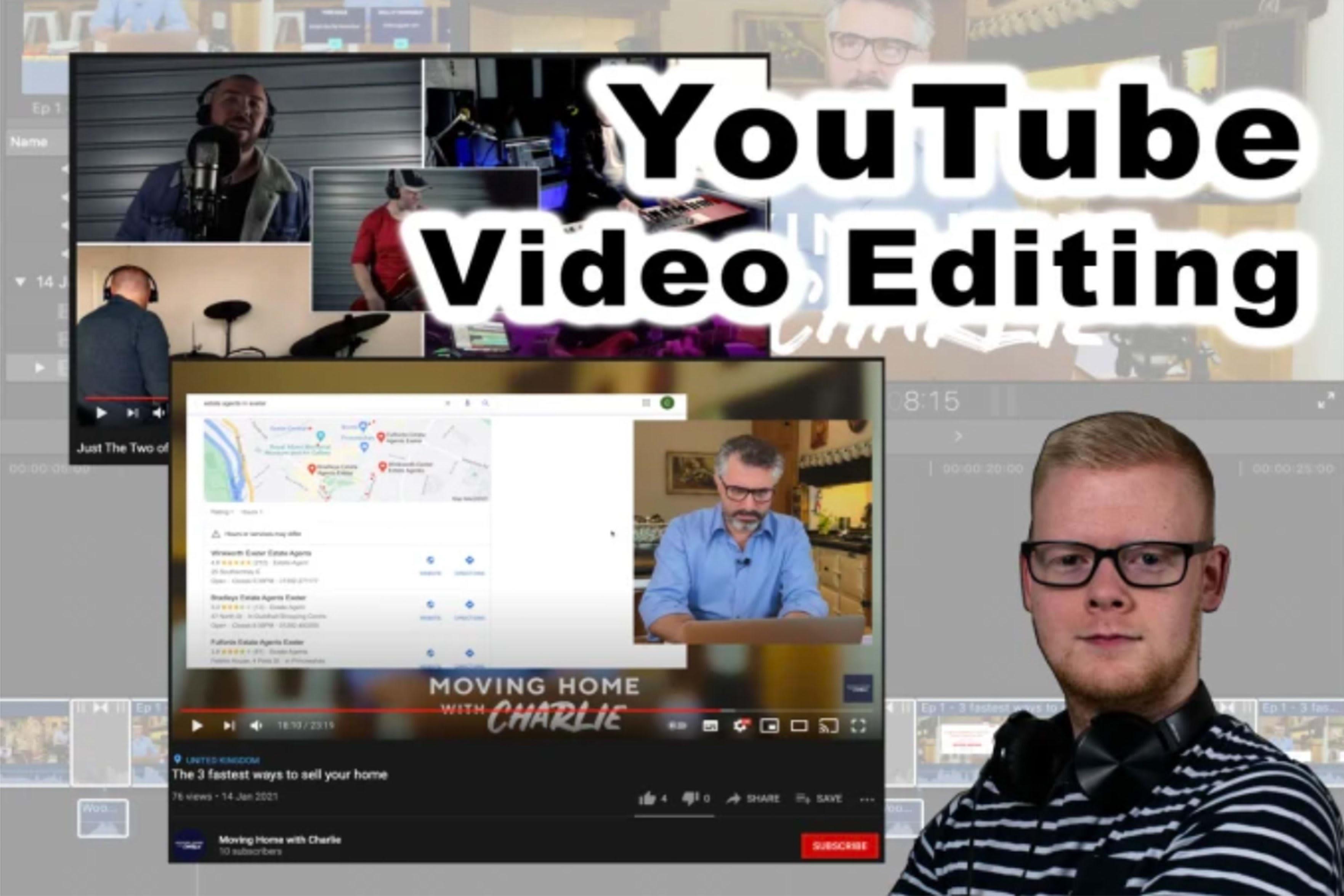 Portfolio for Youtube Video Editor