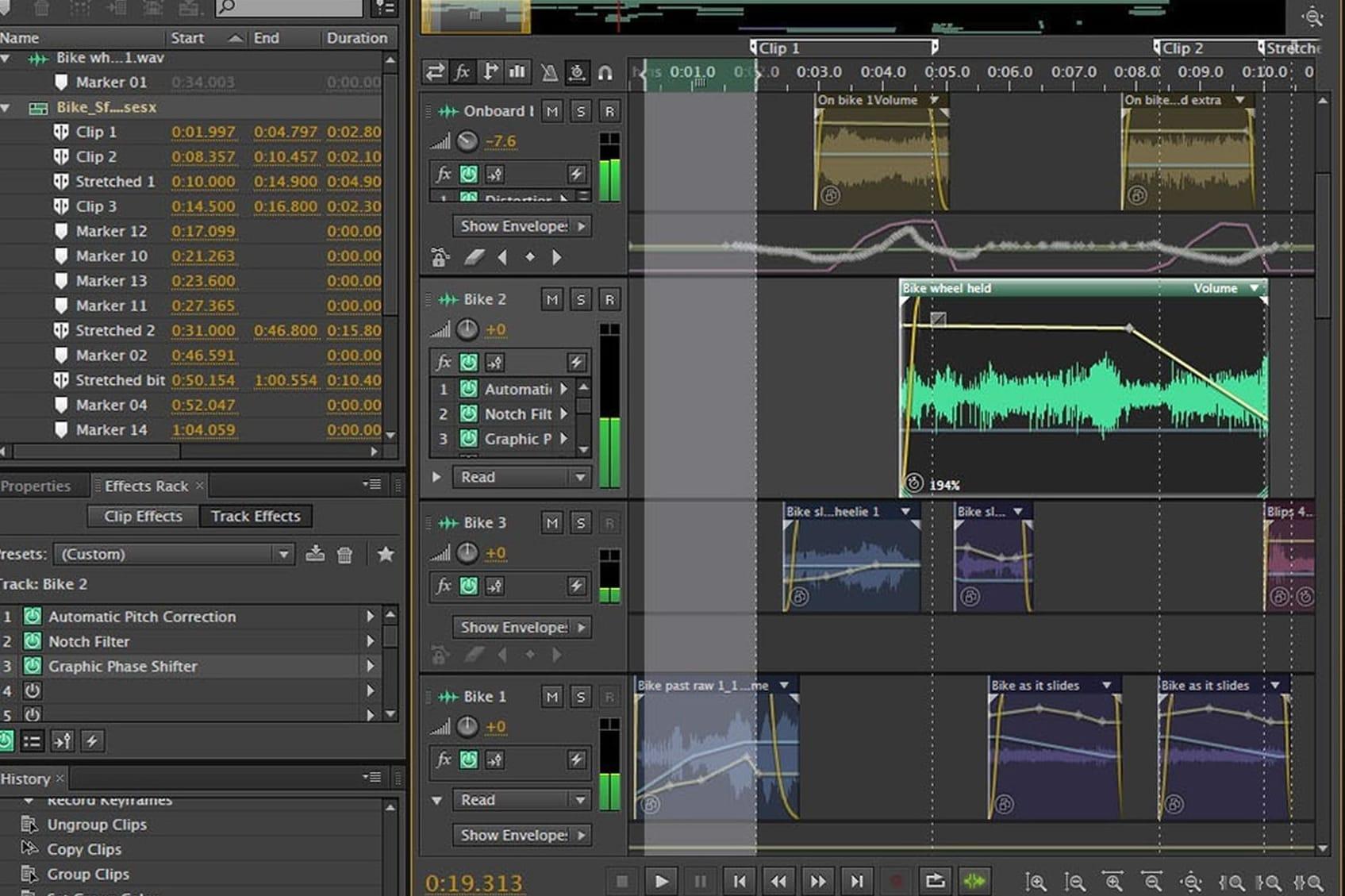 Portfolio for Sound Editor