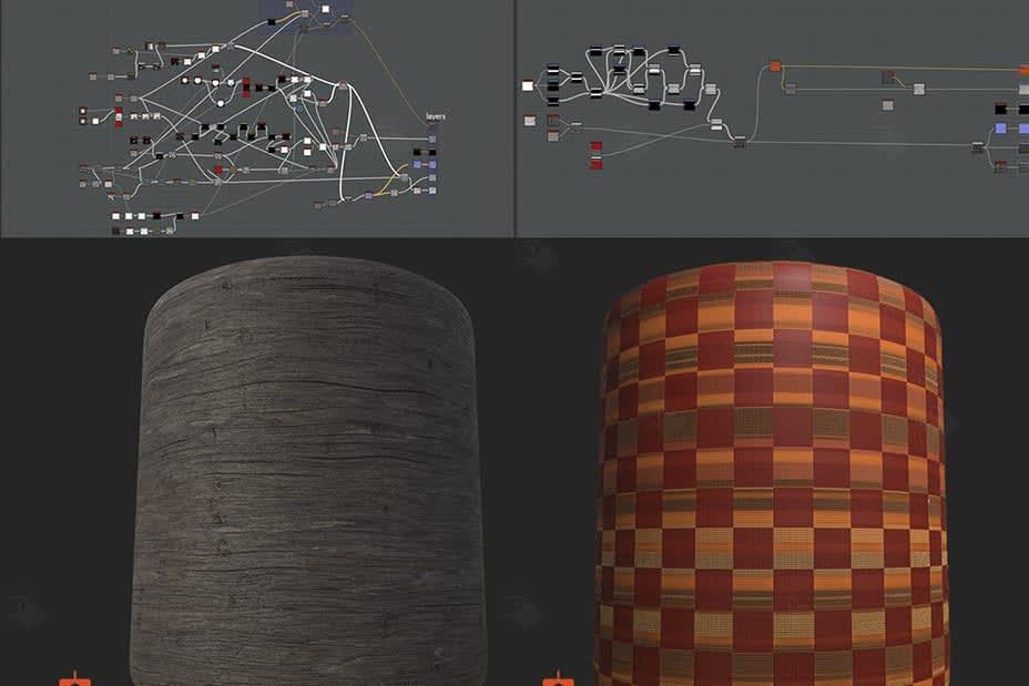 Portfolio for 3D Texture Creation