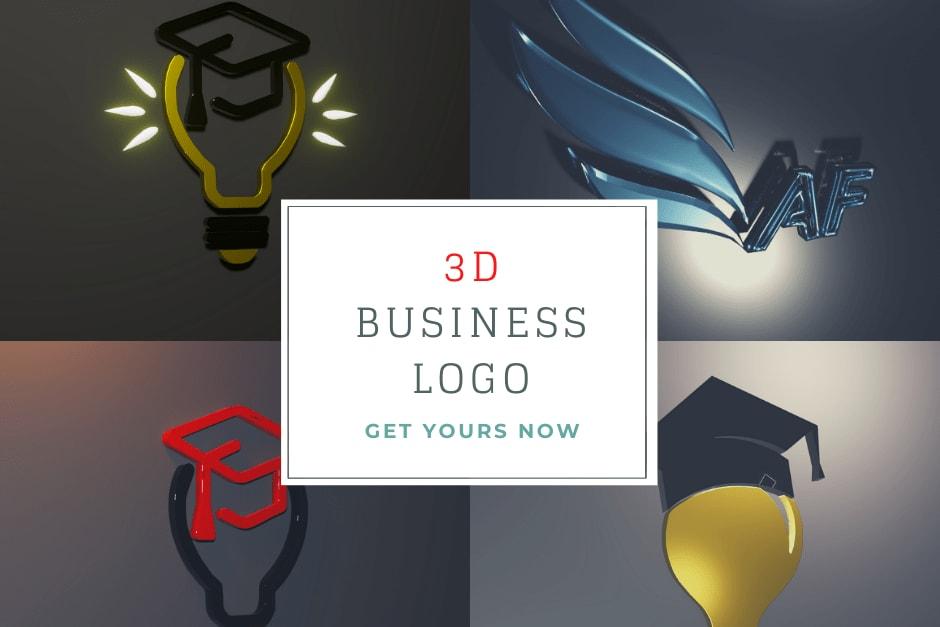 Portfolio for 3d animations and Logo designing