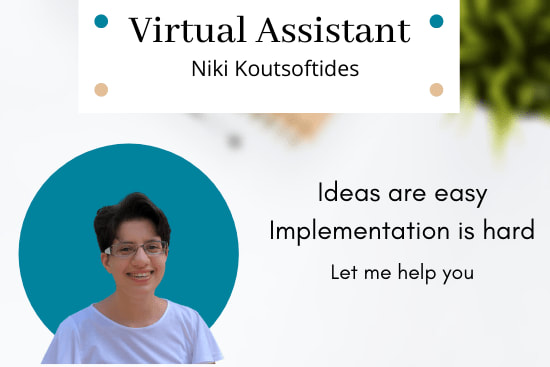 Portfolio for Virtual Assistant for your startup