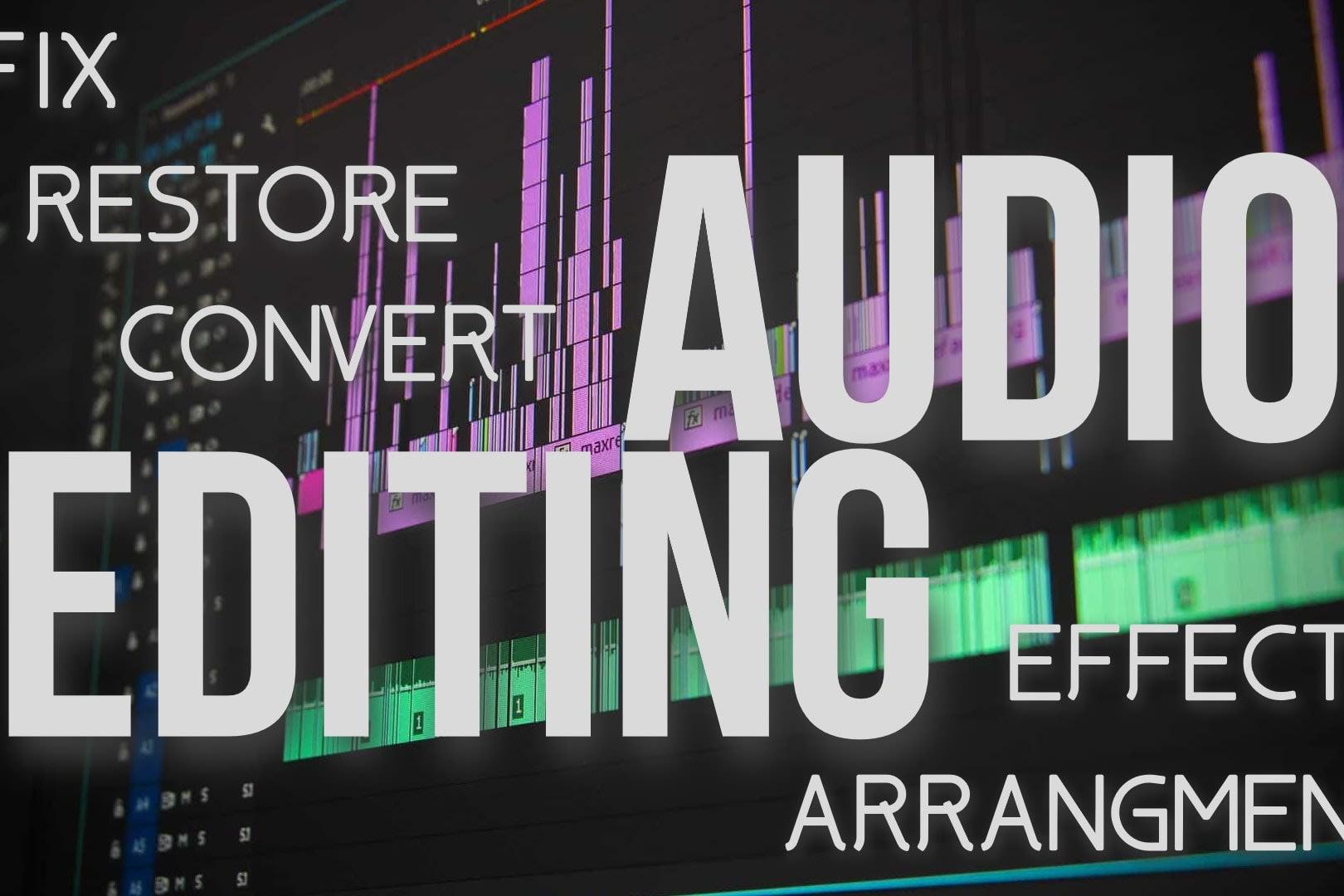 Portfolio for Audio Editor
