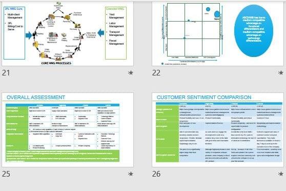 Portfolio for Market Research & Strategic Analysis