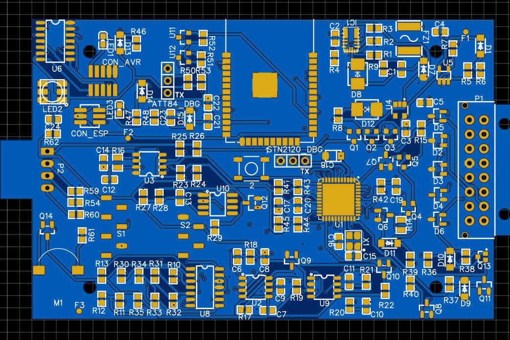 Portfolio for PCB designing with Altium Designer