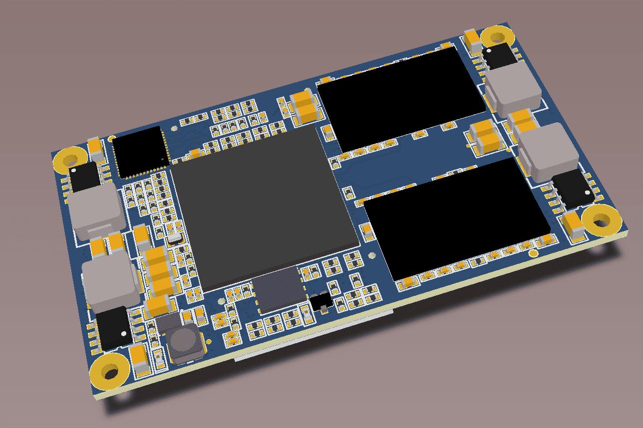 Portfolio for FPGA PCB Design (Electrical Engineering)