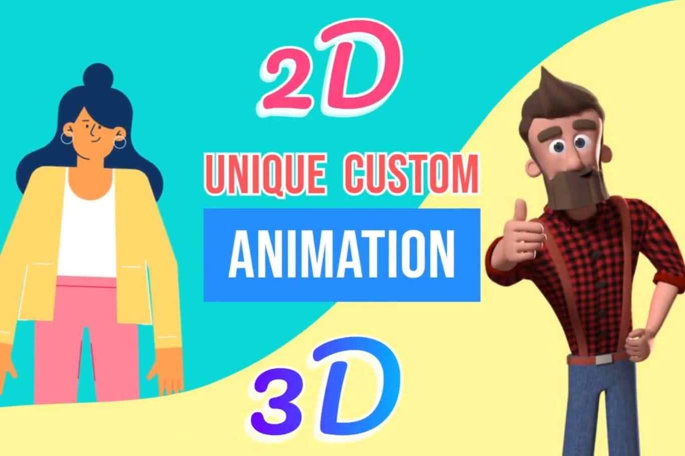 Portfolio for 2D Animation & Motion Graphic Expert