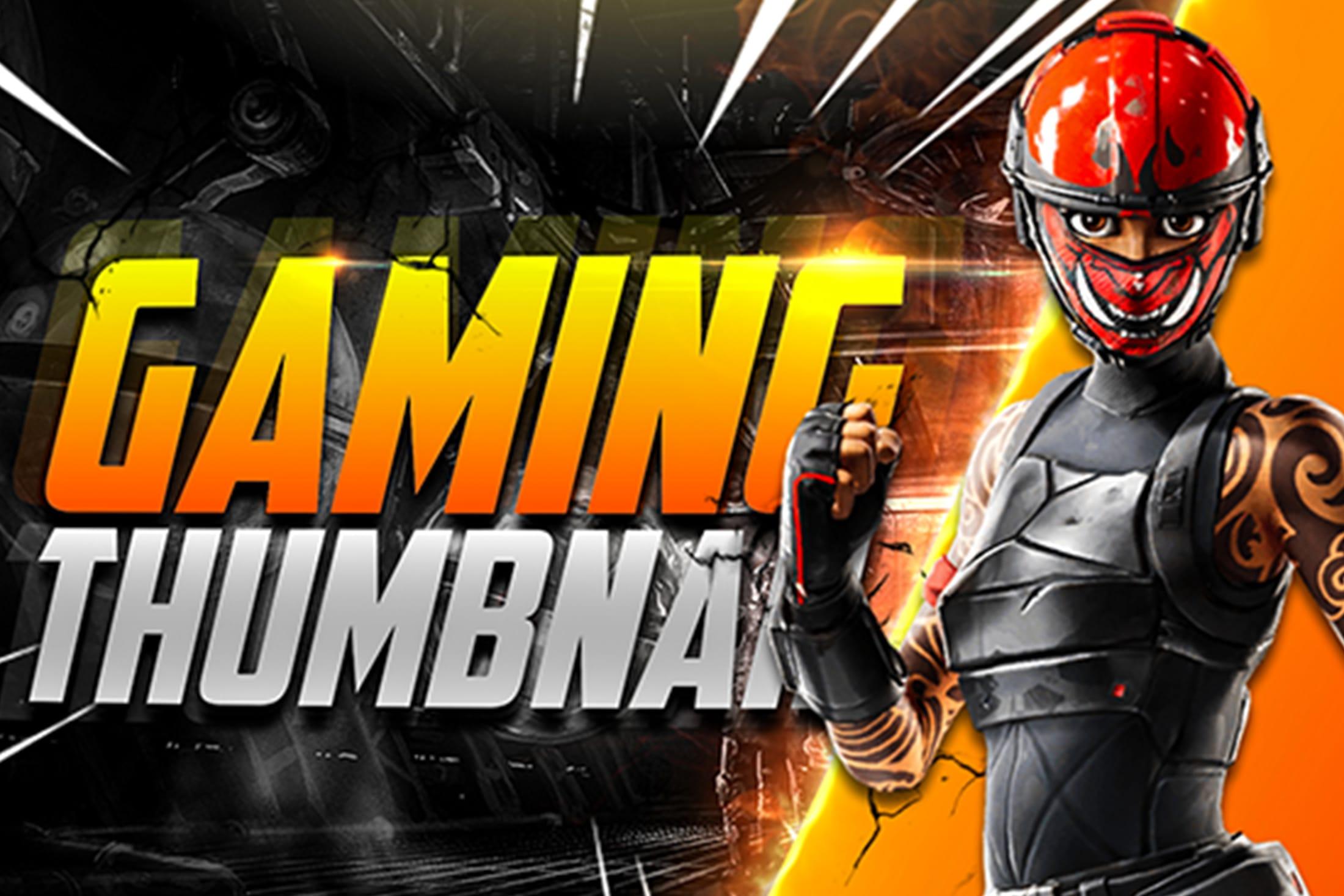 Portfolio for Eye Catching gaming YouTube Thumbnail