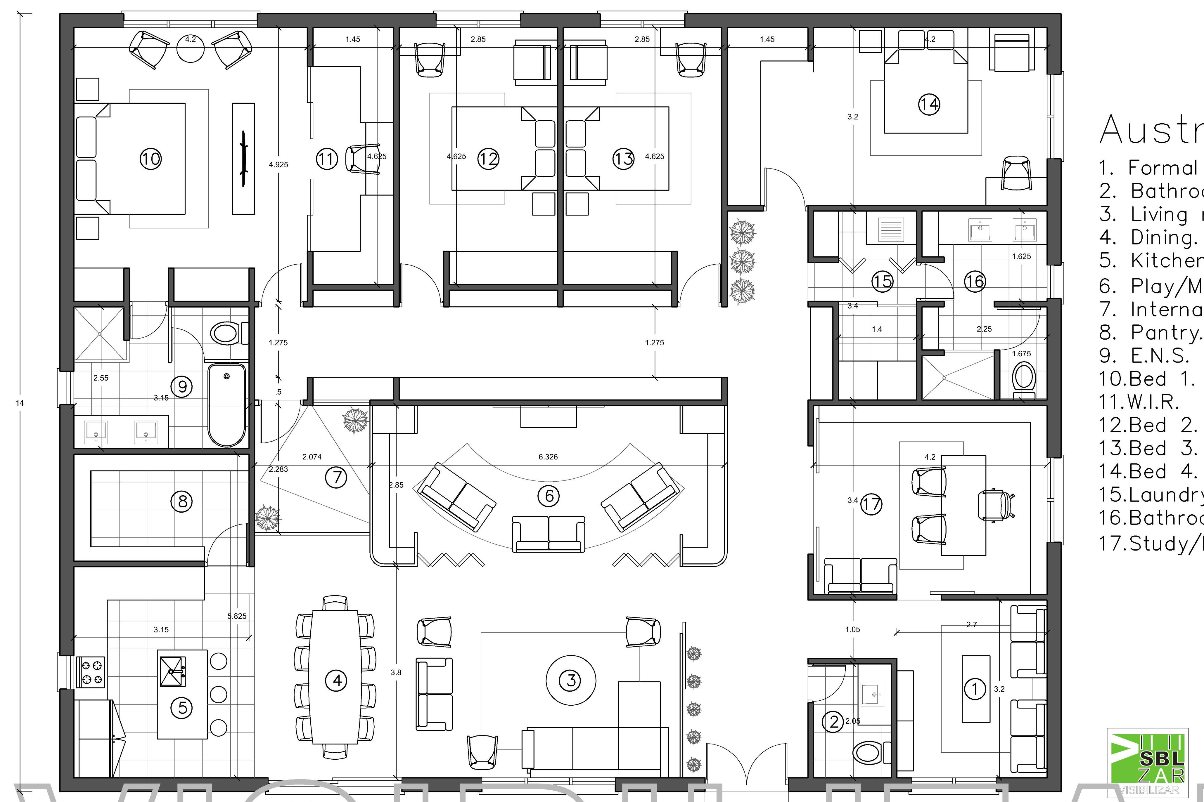 Portfolio for Professional 2d & 3d drawing in AutoCAD