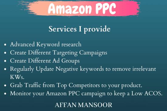 Portfolio for Amazon PPC Campaign manager