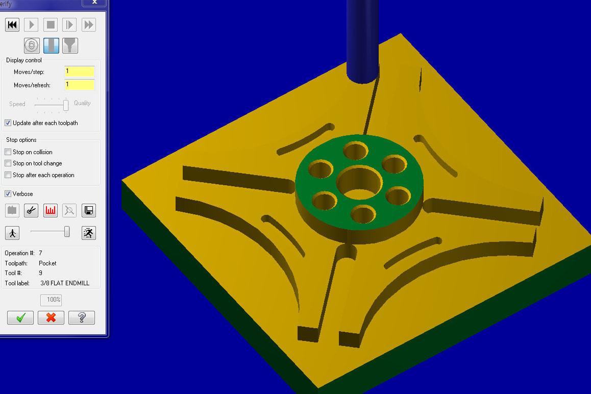 Portfolio for 3D CAD Designing with CNC programming