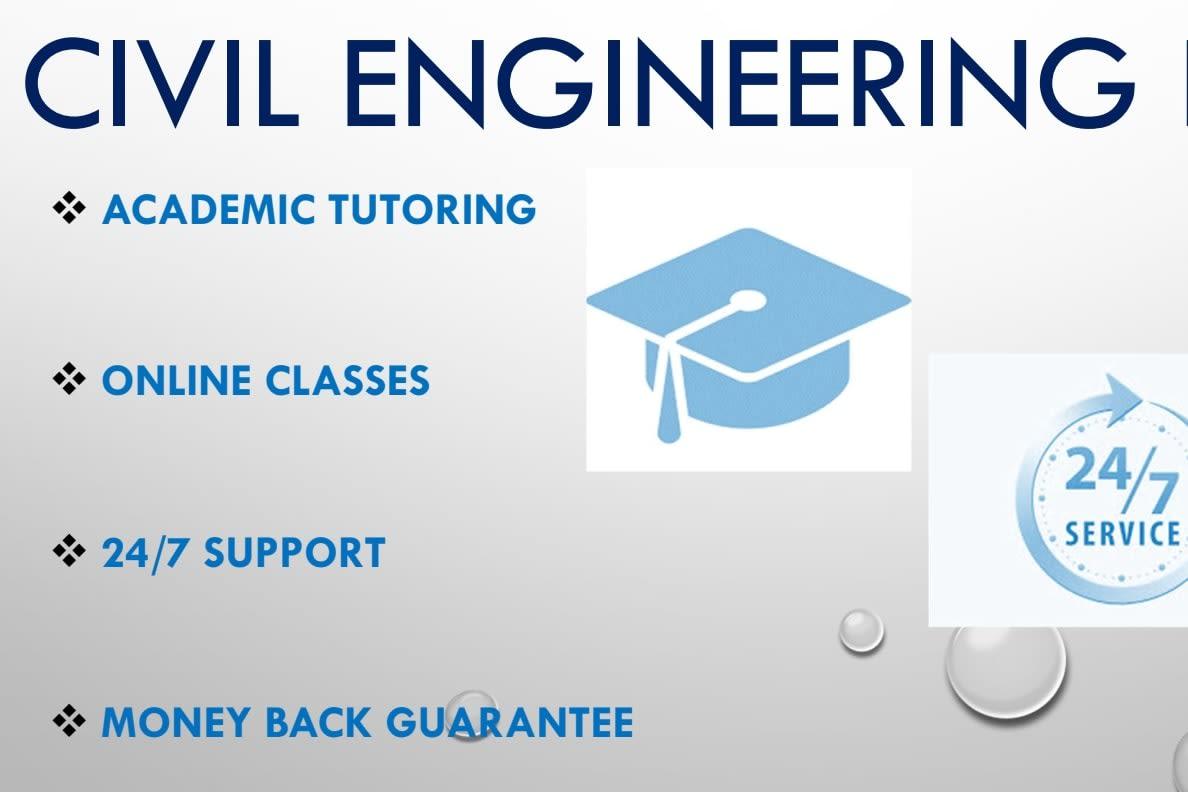 Portfolio for Civil & Structural Engineering Tutoring