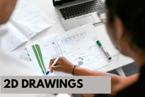 Portfolio for 2D Drawings | AutoCAD Draftsman