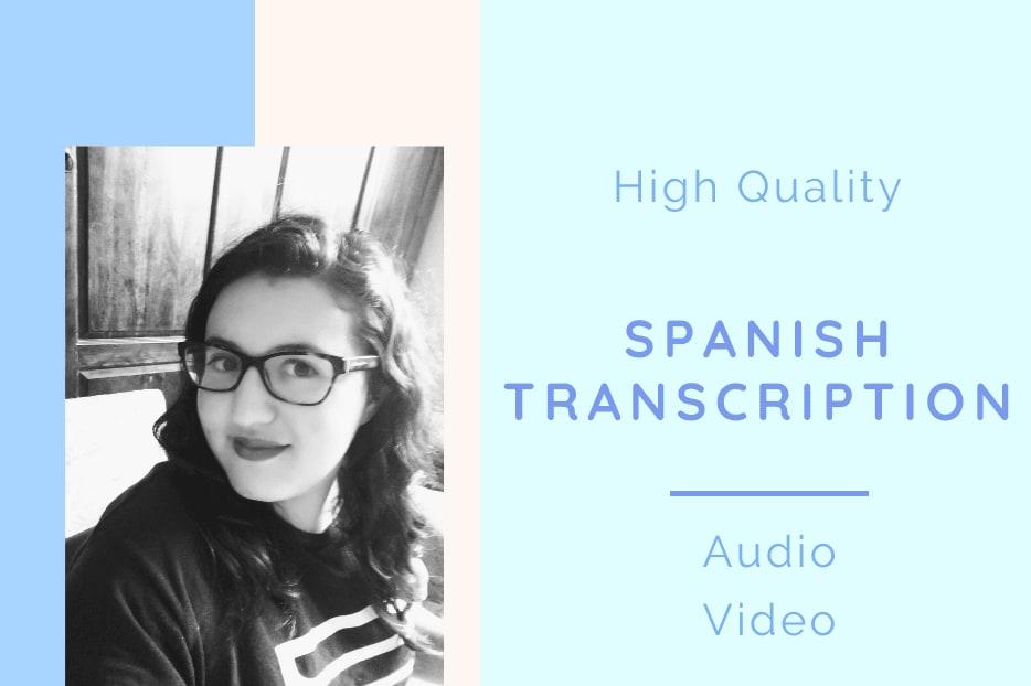 Portfolio for Spanish Transcription