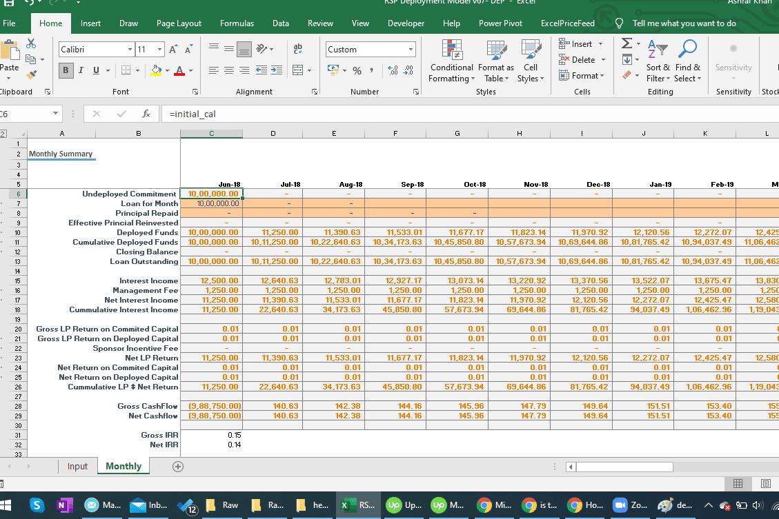Portfolio for Quickbooks Setup