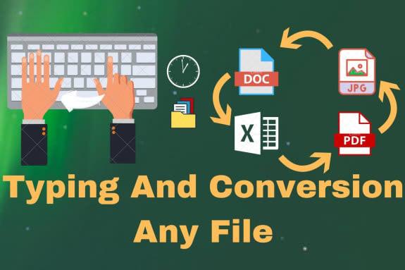 Portfolio for I will convert PDF,jpg to word,excel
