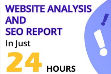 Portfolio for SEO ANALYSIS AND AUDIT REPORT