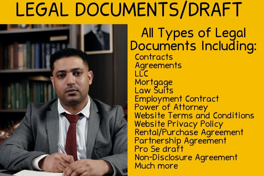 Portfolio for Professional lawyer for your legal needs