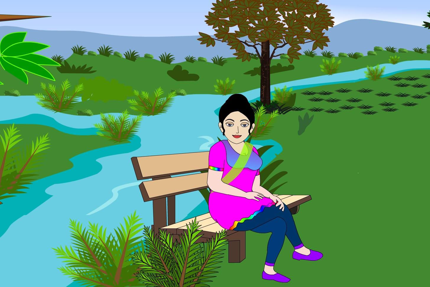 Portfolio for 2D animation cartoon video