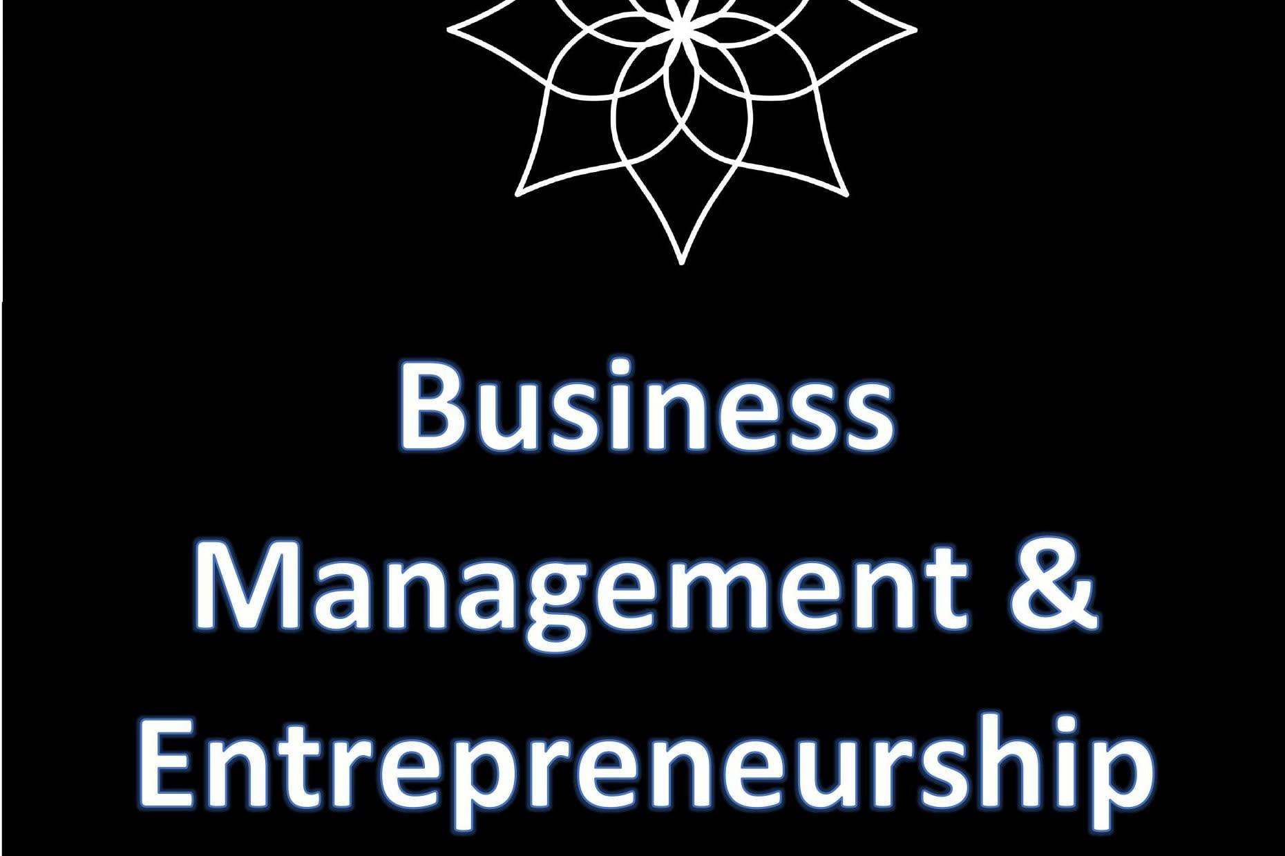 Portfolio for Business management & entrepreneurship
