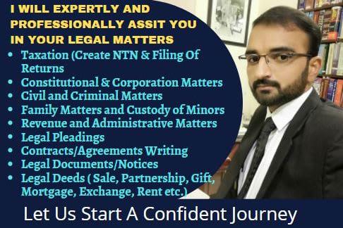Portfolio for Legal  Tax  Contracts  Civil& Criminal