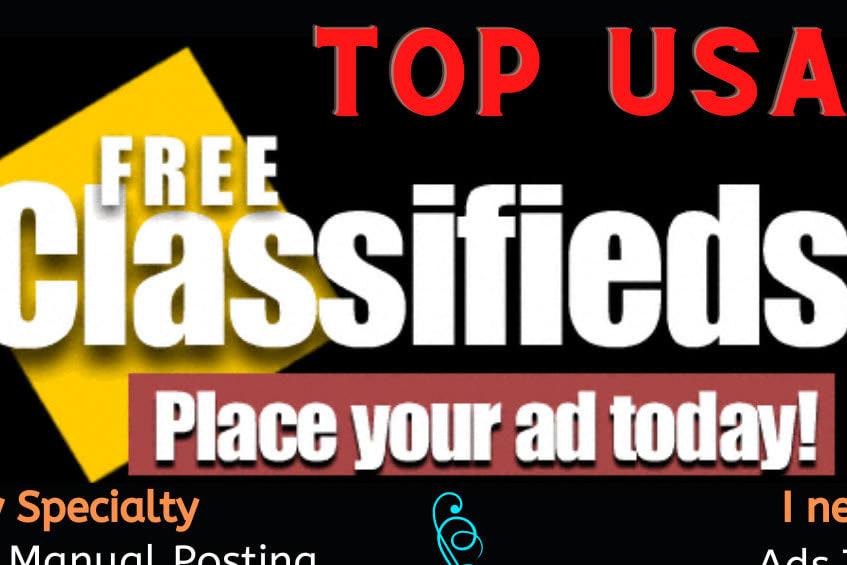 Portfolio for classified ad posting