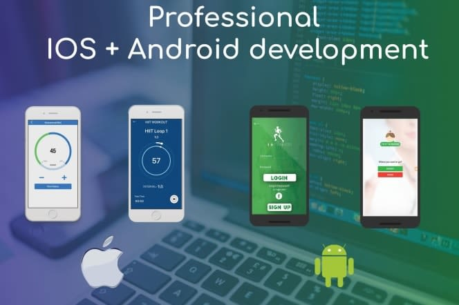Portfolio for Android & IOS Developnenment