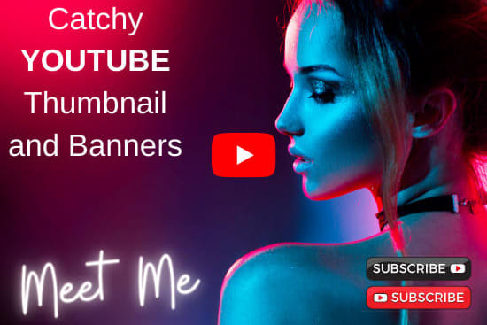 Portfolio for YouTube Thumbnail and Channel Art Design