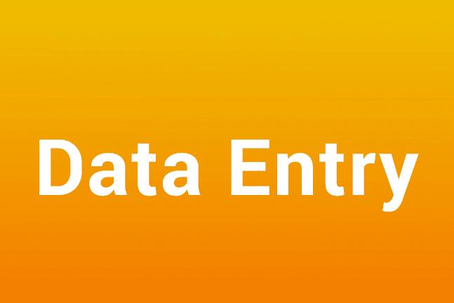 Portfolio for Excel Data Entry | Google Sheet