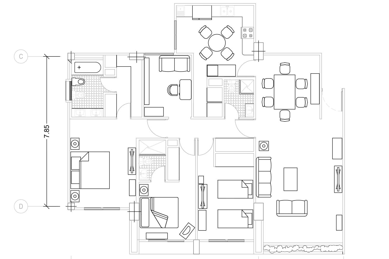 Portfolio for Redraw PDF or sketch in Autocad